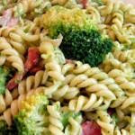 mista de legumes embrulhados