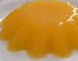 nuvens de choco branco com mimo de laranja e ceu coulis