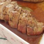 lombinho de porco com molho de vinho madeira