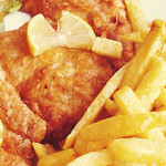 filetes com batata frita
