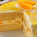 bolo de laranja recheado