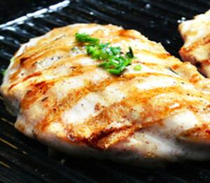 peitos de frango grelhados com cuscuz