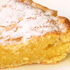 tarte de creme de amendoa