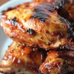 asas de frango assadas