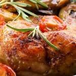 pernas de frango na frigideira