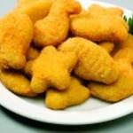 douradinhos de peixe