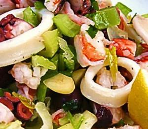 salada de lulas