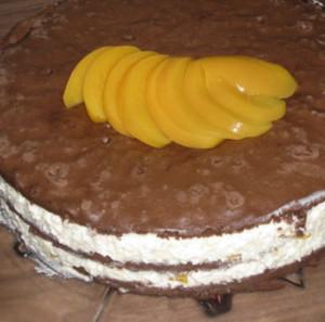 bolo delicia de pessego
