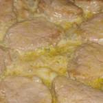 lombinhos de porco estufados com cogumelos