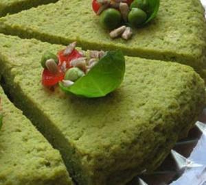 torta de ervilhas