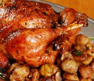 frango com castanhas