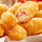 croquetes de camarao com batata