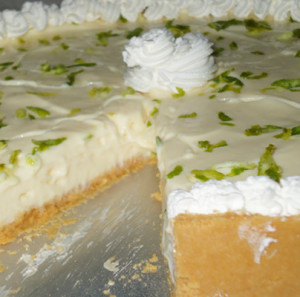 tarte de limao com chantilly