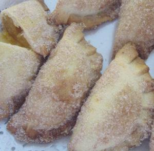 azevias com recheio de castanhas